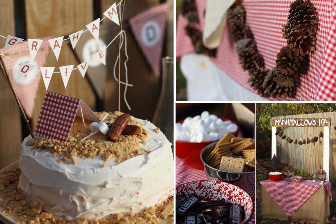 Camping Themed Birthday | Kara's Party Ideas