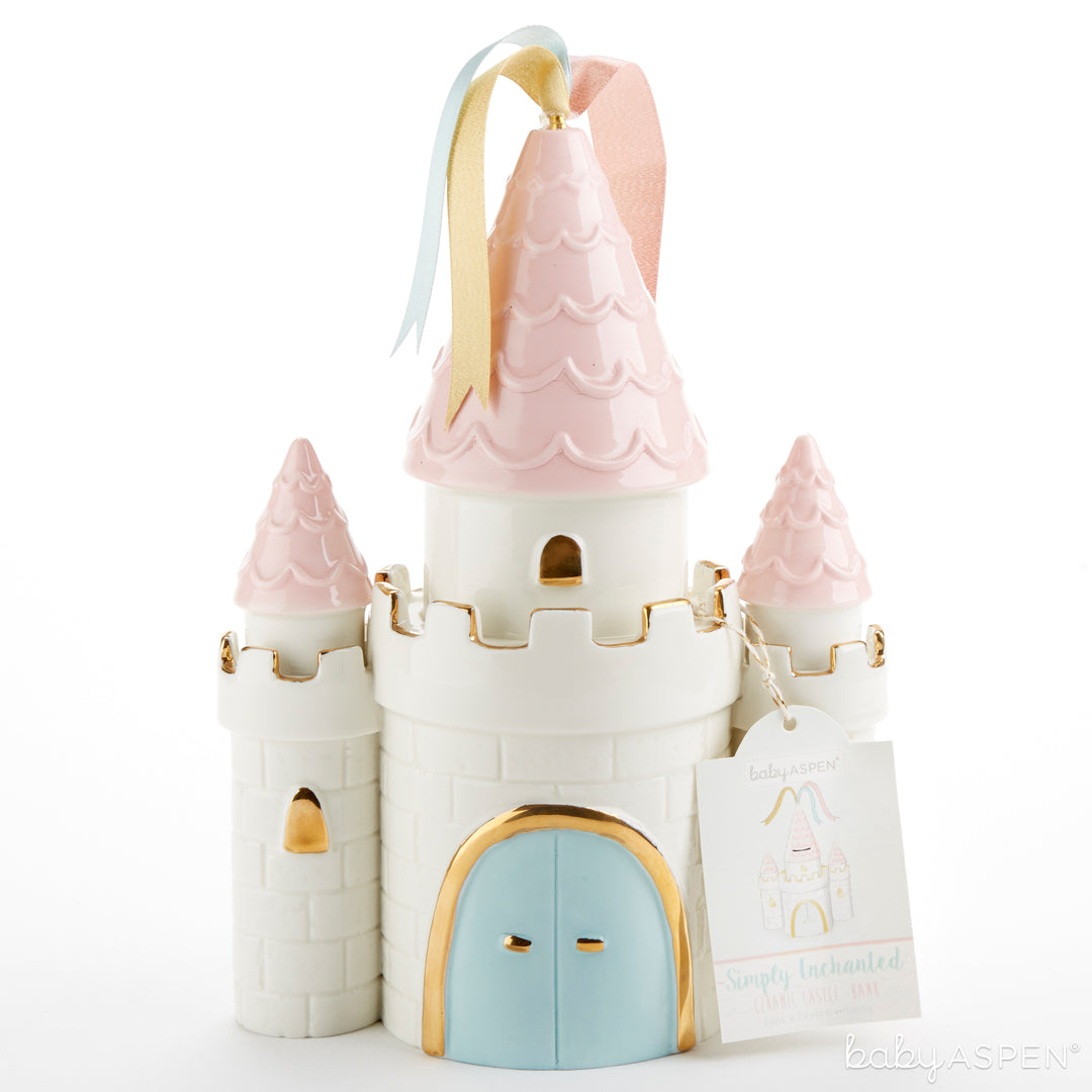 Castle Bank | 5 Simply Enchanted Gifts for Baby Girl | Baby Aspen