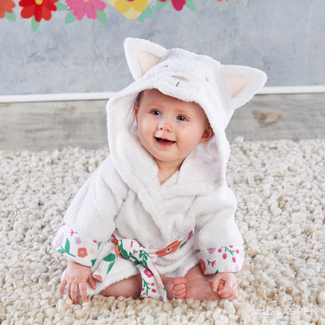 Cat Hooded Robe | Purrrfectly Adorable Gifts For Baby + A Giveaway | Baby Aspen