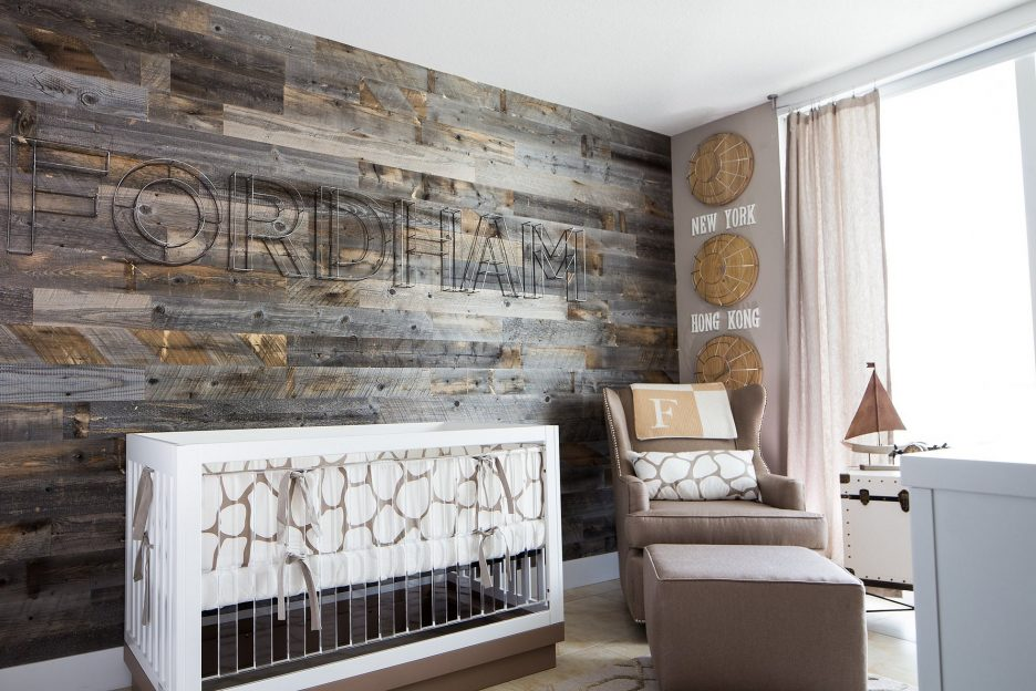 Wood Focused Nursery   5 Trendy and Unique Nursery Themes for 2017   Baby Aspen