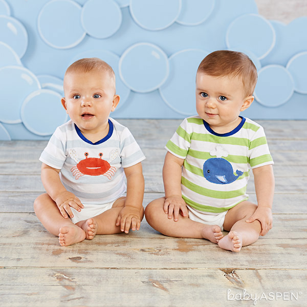 Babies in Deep Sea T-Shirts | Baby Aspen