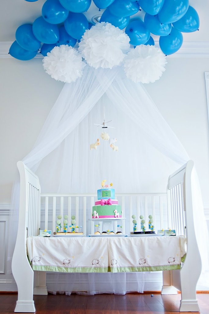 A Lullaby-Inspired Baby Shower | 8 Baby Shower Themes for Girls | Baby Aspen