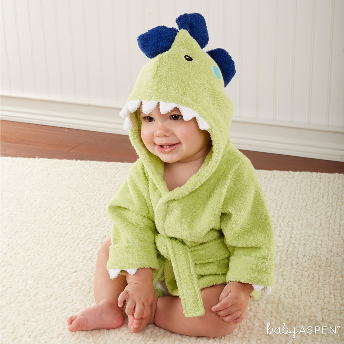 Dinosaur Robe With Baby | Dino-mite Gifts For Baby | Baby Aspen