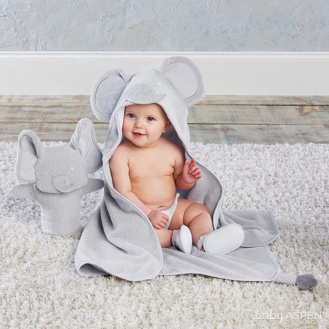 Elephant 3 Piece Bath Set | Holiday Gift Guide: Top 10 Baby Picks for 2018 | Baby Aspen