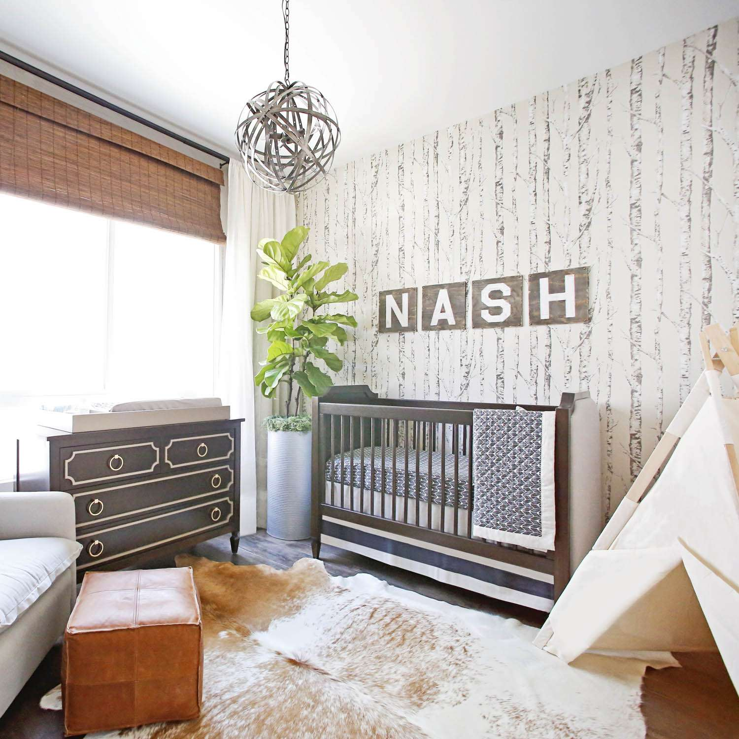 Natural Nursery | 5 Trendy and Unique Nursery Themes for 2017 | Baby Aspen