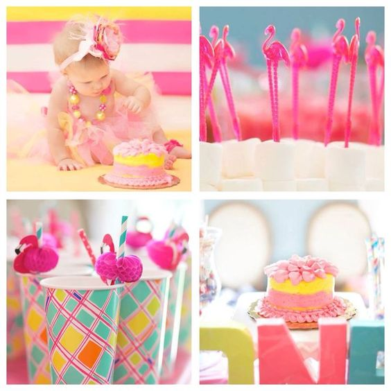 Flamingo First Birthday Kara's Party Ideas