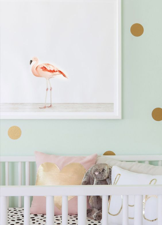 Flamingo Nursery | The Animal Print Shop by Sharon Montrose