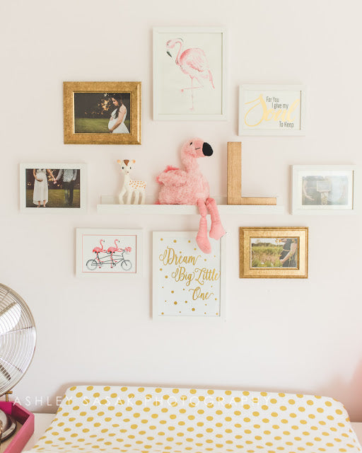 Flamingo Nursery Ashley Sasak Photography