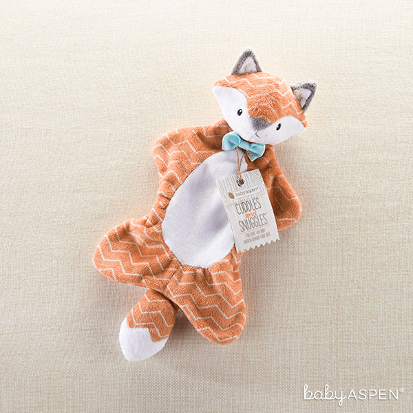 Cuddles and Snuggles Fox Plush Lovie | Baby Aspen
