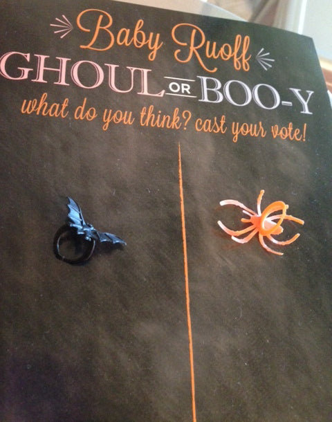 Ghoul or Boo-y | Spooktacular Halloween Baby Shower Ideas | Baby Aspen Blog