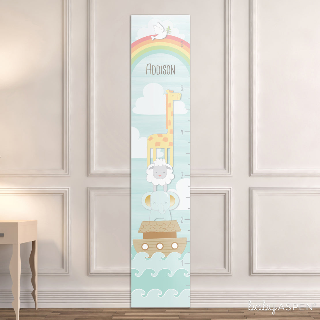 Growth Chart | Noah's Ark Themed Gifts For Your Biblical Baby | Baby Aspen