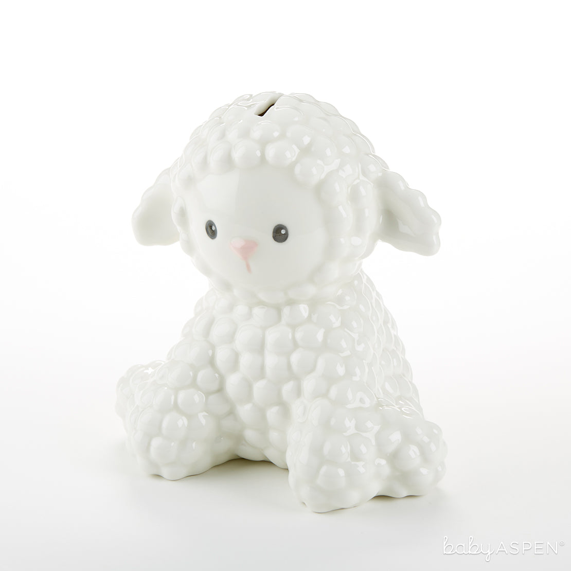 Lamb Porcelain Bank | 7 Excellent Easter Gifts for Your Little Chick | Baby Aspen