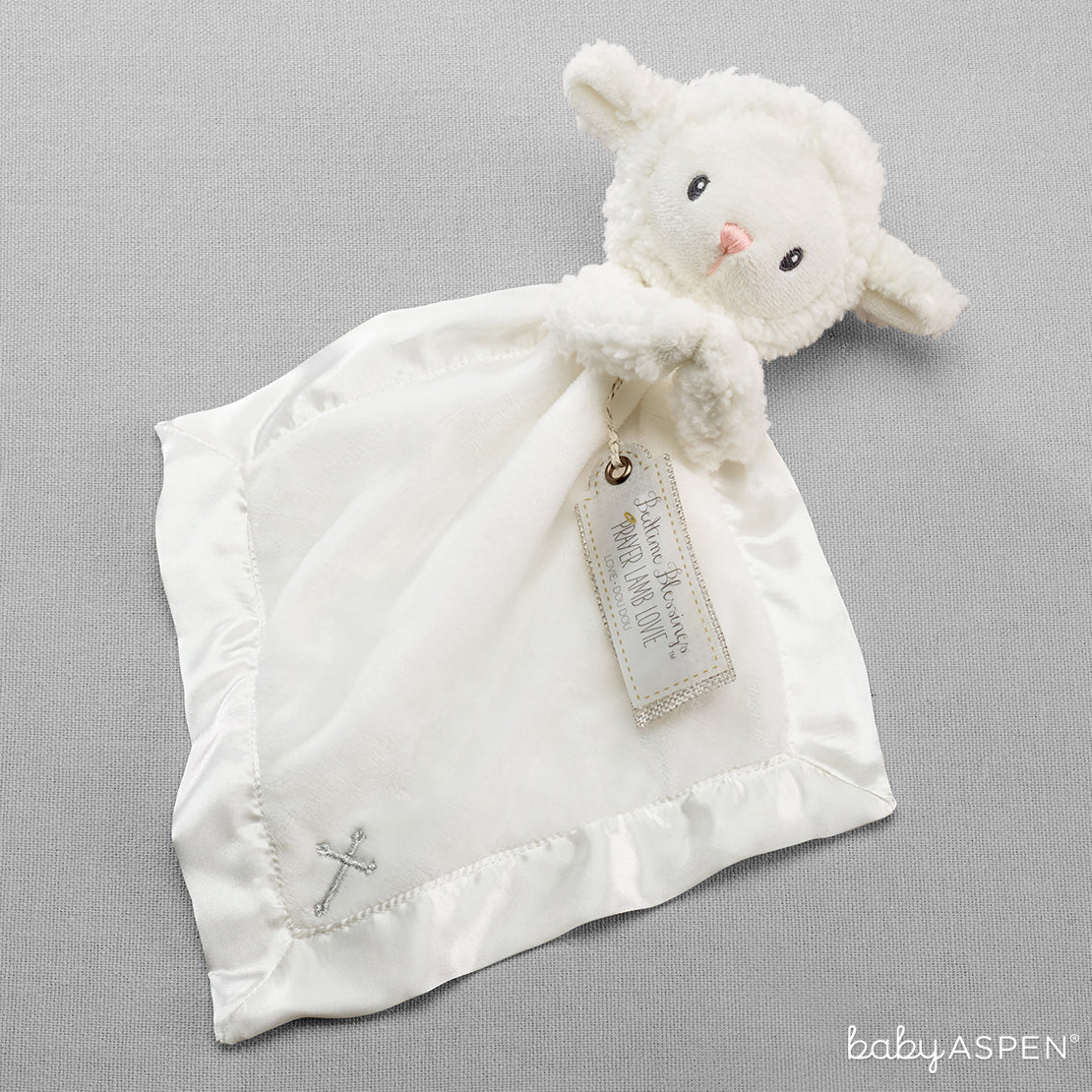 Bedtime Blessings Lamb Lovie | 7 Excellent Easter Gifts for Your Little Chick | Baby Aspen