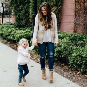 Laura Boswell of Walking in Memphis in High Heels   Best Pieces of Advice for Moms-To-Be   Baby Aspen