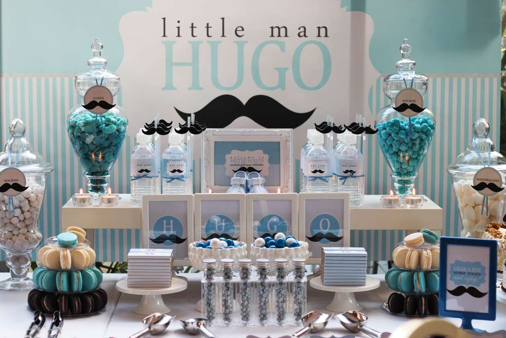 Little Man Mustache Bash | 8 Baby Shower Themes for Boys | Baby Aspen