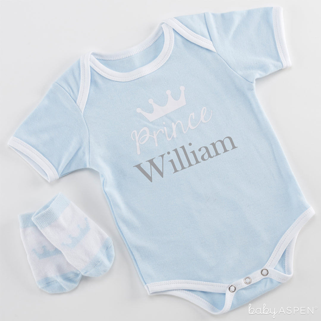 Little Prince Body Suit & Socks | Baby Aspen