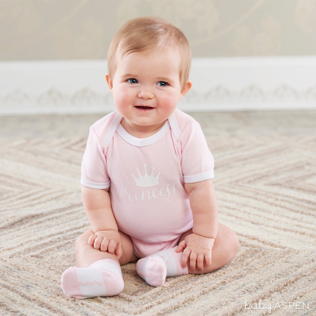 Little Princess Body Suit & Socks | Baby Aspen