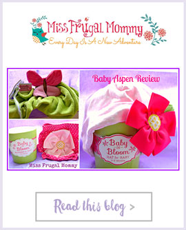 Miss Frugal Mommy - Baby in Bloom Bloomers