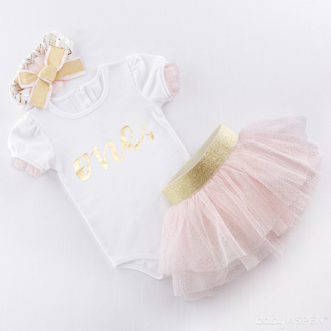 My First Birthday Outfit with Tutu | Outfits for All of Baby's Firsts | Baby Aspen