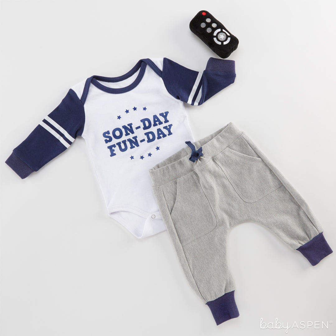 My First Gameday Outfit | Outfits for All of Baby's Firsts | Baby Aspen
