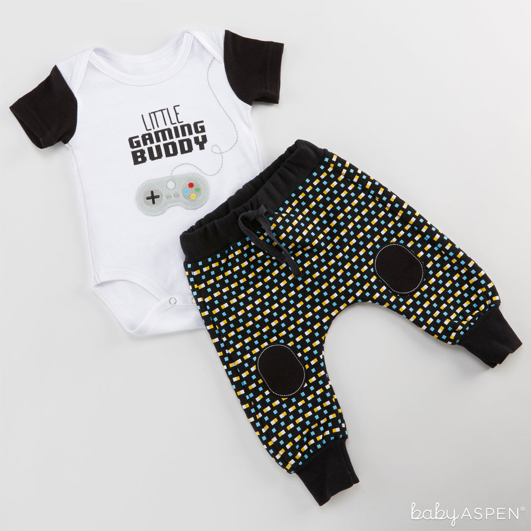 My First Gaming Buddy Outfit | Outfits for All of Baby's Firsts | Baby Aspen