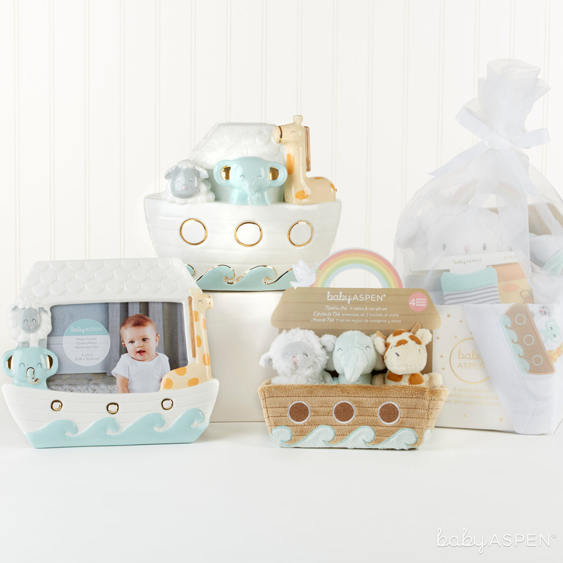 Noah's Ark Collection | Noah's Ark Themed Gifts For Your Biblical Baby | Baby Aspen