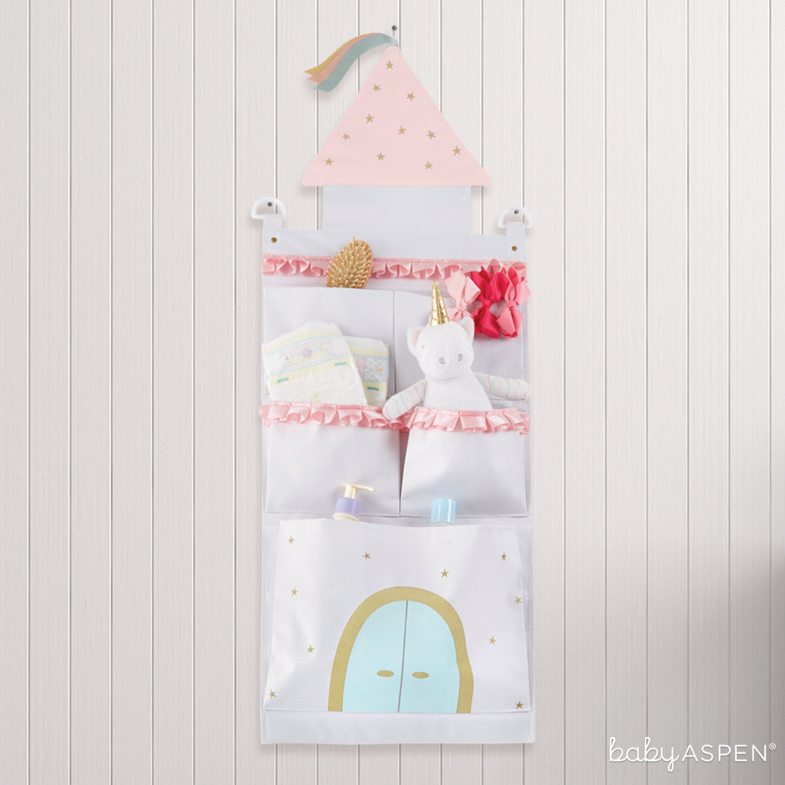 Simply Enchanted Castle Wall Organizer   7 Easy Room Decor From Baby to Toddler   Baby Aspen
