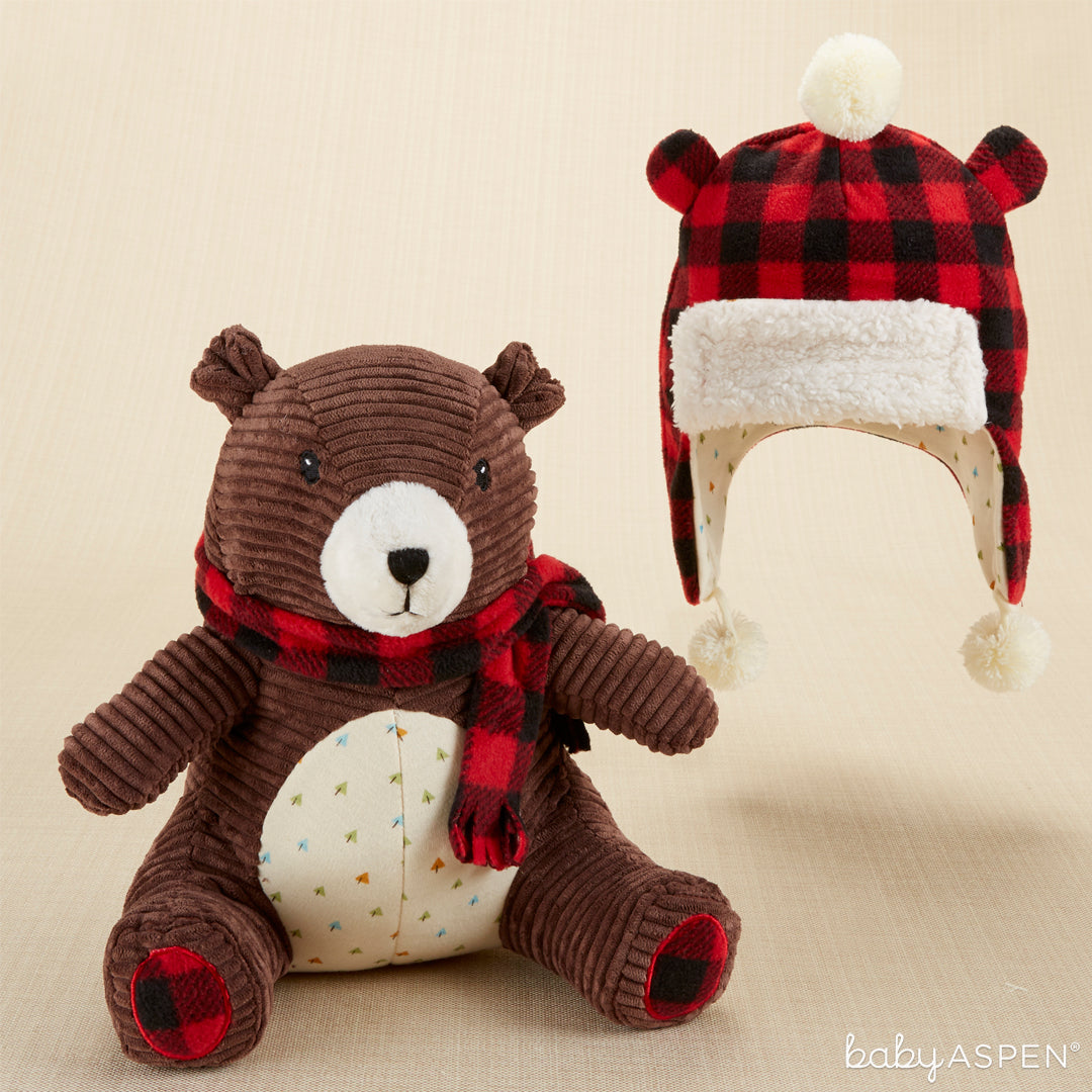 Pierre the Bear Plush Plus® Hat for Baby | Baby Aspen