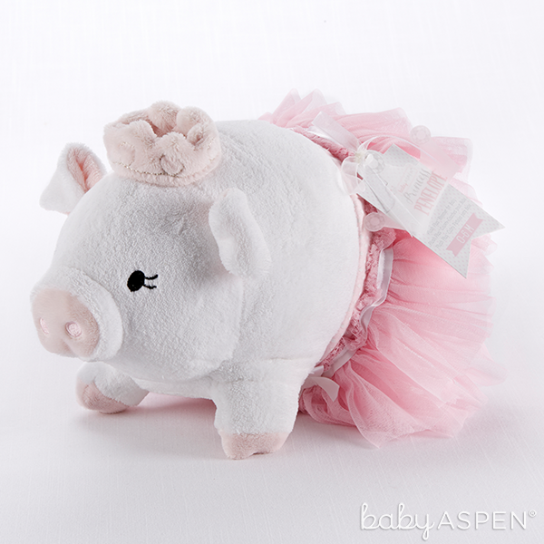 Pig Plush Bloomer | @BabyAspen