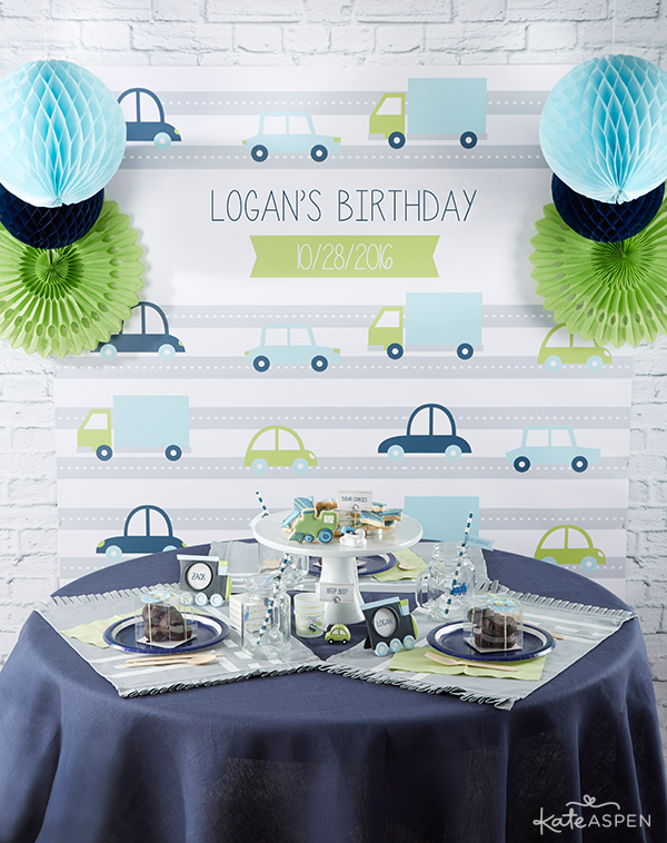 Precious Cargo Birthday Party | Kate Aspen