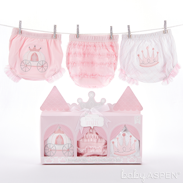 Pink Princess Bloomers Set for Baby | @BabyAspen