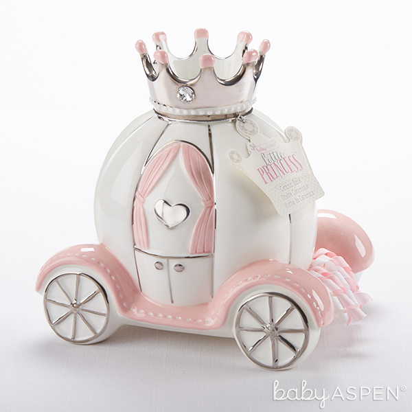 Princess Carriage Bank | @BabyAspen
