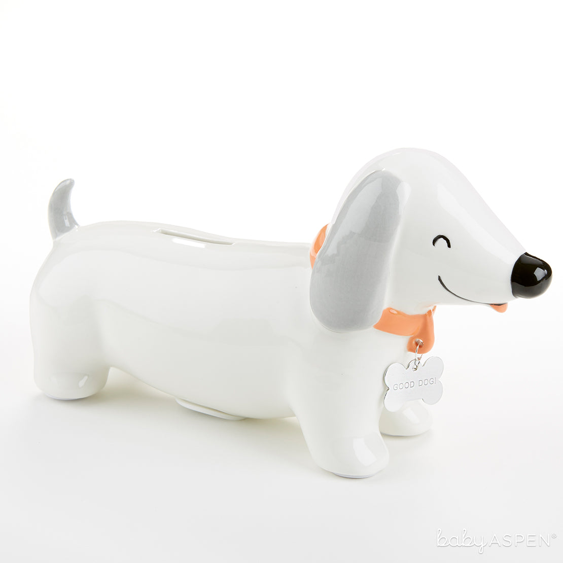 Puppy Love Porcelain Bank | Baby Banks You'll Want in Your Nursery | Baby Aspen