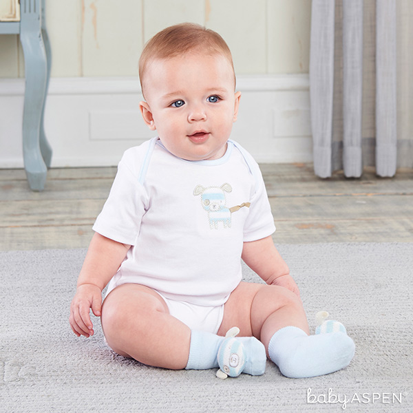Puppy Pal Layette Set for Baby | Baby Aspen