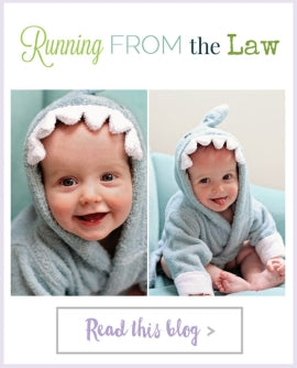 Running from the Law - Shark Robe