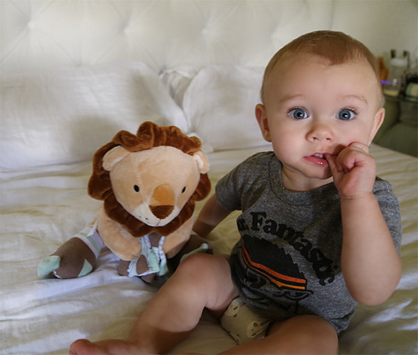 Ryan the Lion | Lion Lovers Giveaway | Baby Aspen