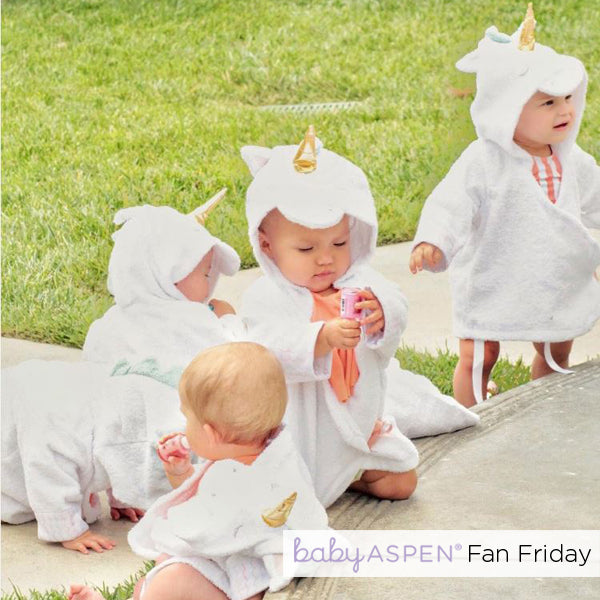 Simply Enchanted Unicorn Robe Robe | The Best of 2017 Fan Friday | Baby Aspen