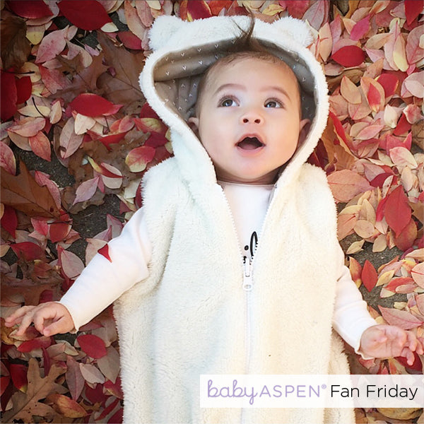 Happy Camper Snuggle Sack Baby Aspen Fan Photo by @ryder_koa via Instagram