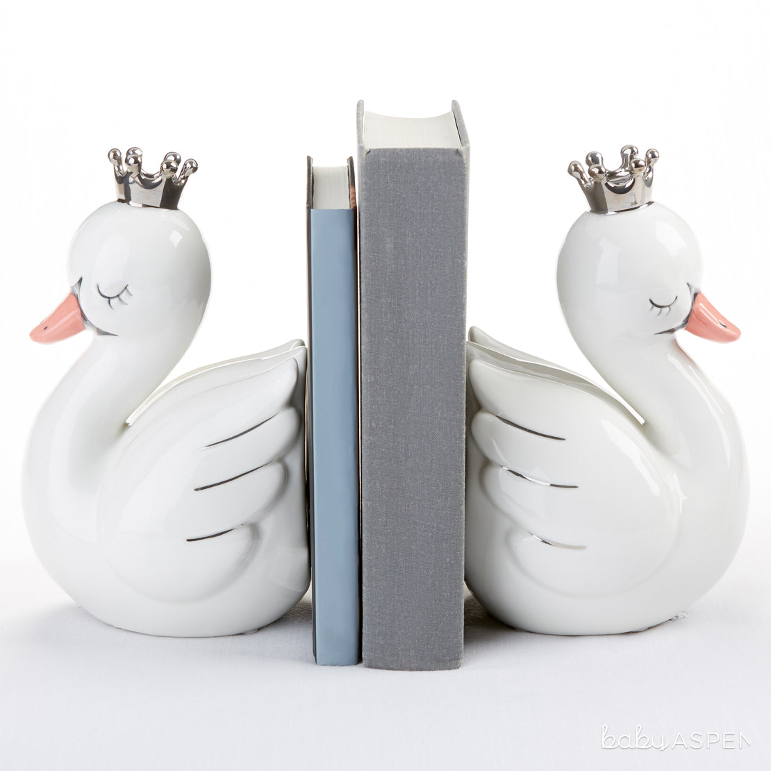 Swan Bookends | Magical Gifts For Your Fairy Princess | Baby Aspen