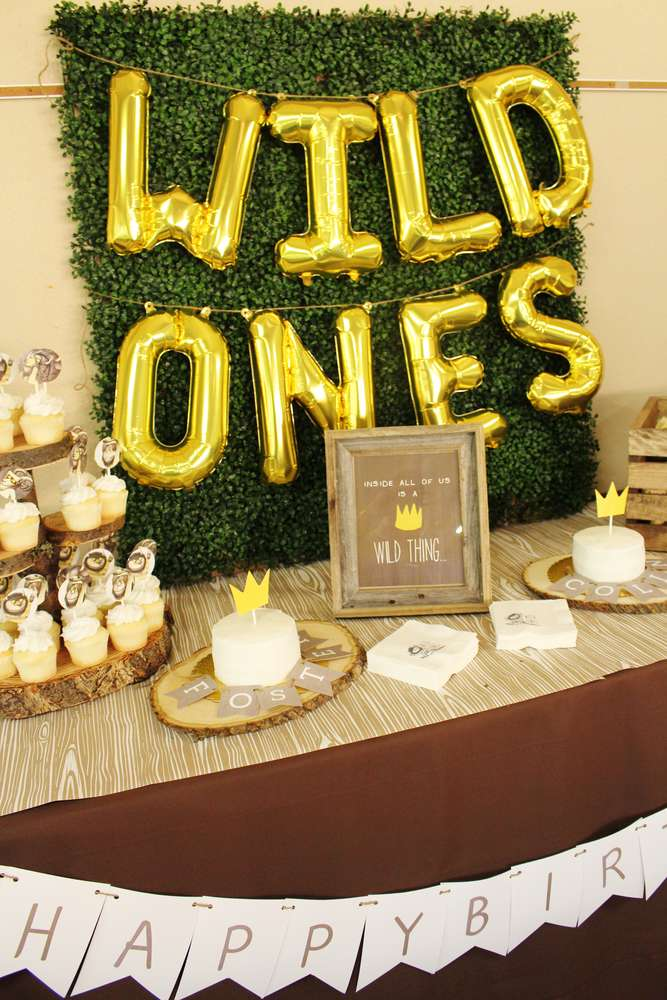 Where The Wild Things Are Birthday Party | Crowning Details via Catch My Party