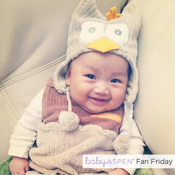 Owl Snuggle Sack by Baby Aspen | Fan Friday  @_aivy