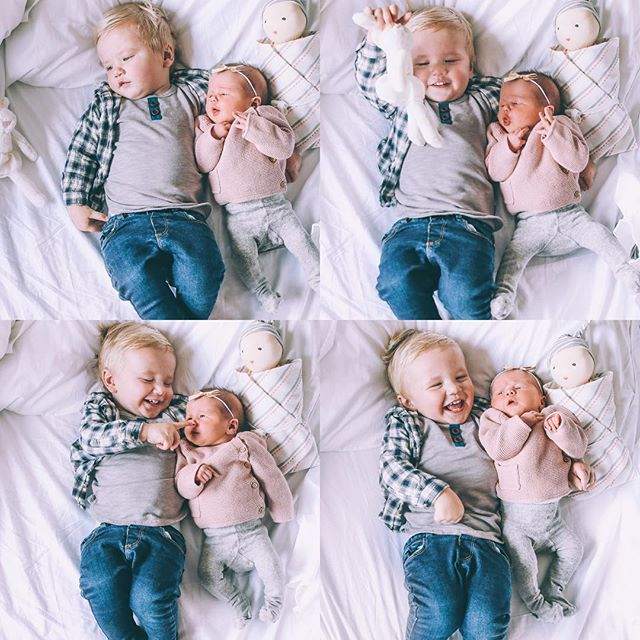 Sweet brother and sister | @amberfillerup on Instagram