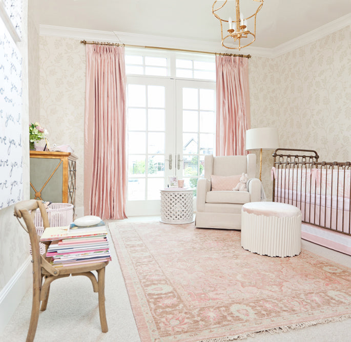 Pink Peonies | Design by Caitlin Creer Interiors and Oilo Studio | Photos by Britt Anderson