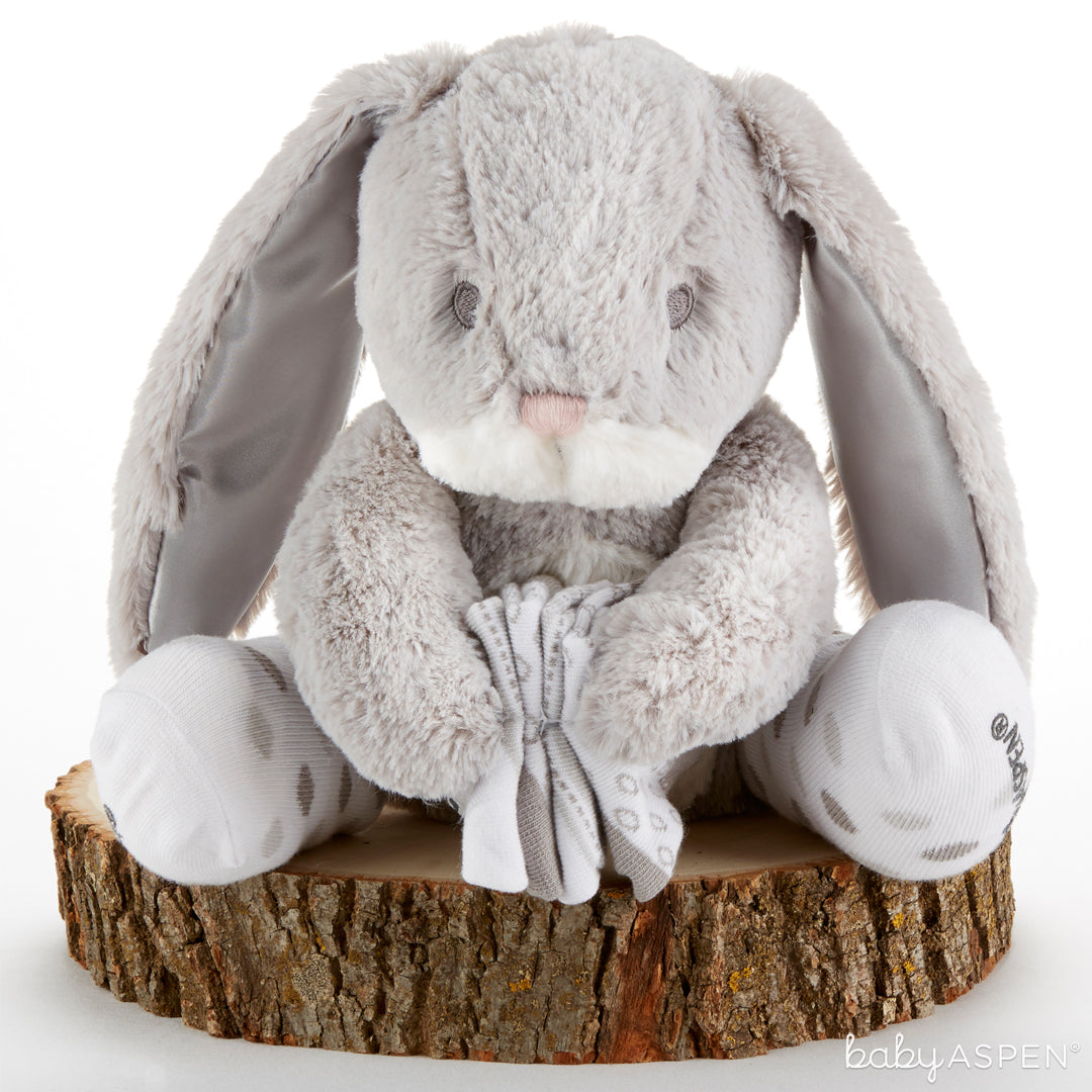 Bailey the Bunny Plush Plus with Socks for Baby | Top 5 Gender Neutral Baby Gifts | Baby Aspen