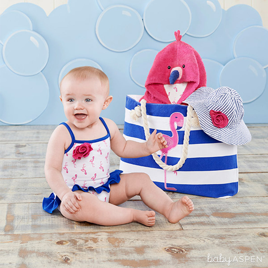 Flamingo Nautical Gift Set | Our Favorite Baby Gifts from 2016 | Baby Aspen