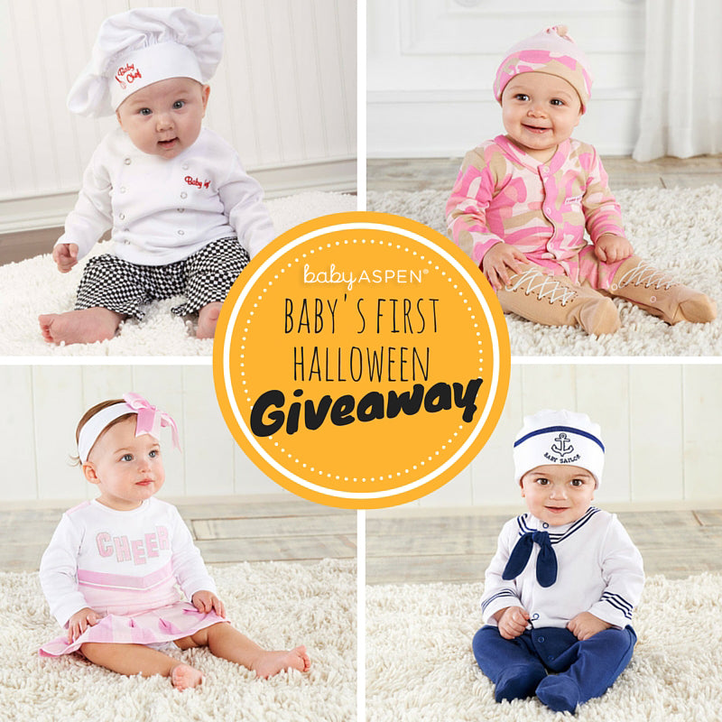 Baby's First Halloween Giveaway from Baby Aspen | Win a Halloween costume for baby!