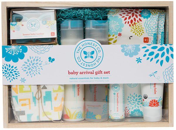 Honest Company baby arrival gift set