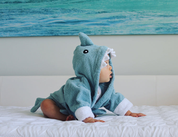 | 10 Adorable Shark Babies + A Fintastic Giveaway | Baby Aspen