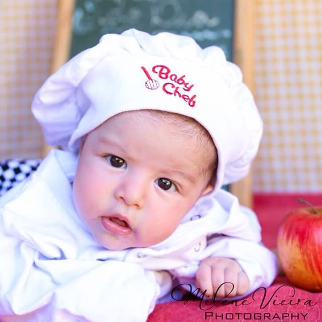 Baby Chef via j.agoncalves by Milene Vieira Photography on Instagram | Baby Aspen