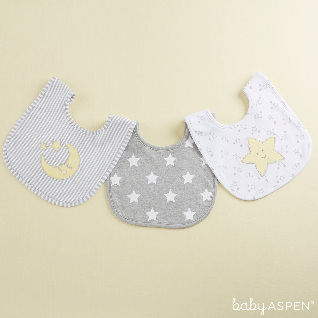 Three Bibs For A Baby | Baby Aspen